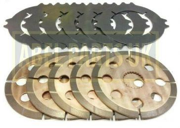 BRAKE PLATES AND SEALS SET FOR PROJECT 9 /& 12 JCB PARTS