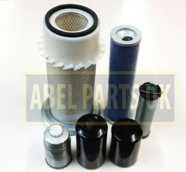 FILTER KIT P8 TURBO AB SN 430001  459999 FOR SNYCRO AND P/S TRANS